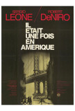 Once Upon a Time in America - French Style Posters