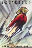 Rocketeer - Der Raketenmann, Englisch Poster