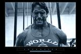 O Homem dos Músculos de Aço Fotografia