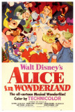 Cover kinderboek Alice in Wonderland, Engelse tekst Foto