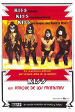 KISS Meets the Phantom of the Park - Spanish Style Poster