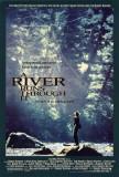 Et au milieu coule une rivière Affiche