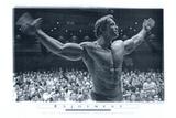 Filmbeeld Pumping Iron met Arnold Schwarzenegger Foto