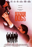 Filmposter Reservoir Dogs, 1992 Poster