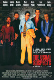 Filmposter The Usual Suspects, 1995, Engelse tekst Print