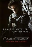 Game of Thrones - Jon Snow - Watcher Posters