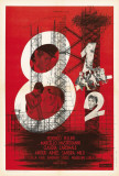 8½ - Franska Posters