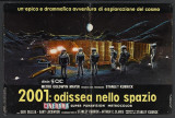 2001: A Space Odyssey - Italian Style Poster