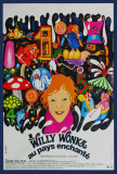 Willy Wonka and the Chocolate Factory - French Style Affiche