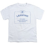 Youth: Warehouse 13-Now Leaving Univille T-shirts