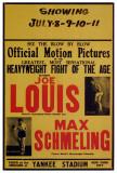 Joe Louis and Max Schmeling Kunstdrucke