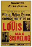 Joe Louis and Max Schmeling Posters