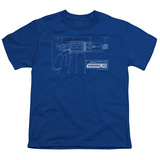 Youth: Warehouse 13-Tesla Gun Shirt
