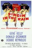 Cantando na chuva, em inglês Pôsters