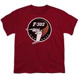 Youth: Stargate1-F302 Logo Shirts