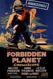 Den forbudte planet Plakat
