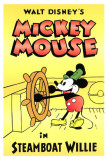 Steamboat Willie Plakater