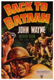 Back To Bataan Posters