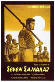 De sju samuraier Plakater