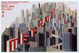 メトロポリス(L) アートポスター