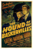The Hound of The Baskervilles Stampe