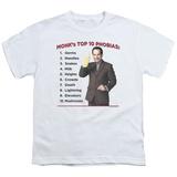 Youth: Monk - Top 10 Phobias T-Shirt