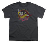Youth: Mighty Mouse - Mighty Circle T-shirts