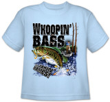 Youth: Wildlife-Whoopin' Bass T-Shirt