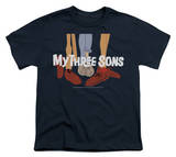 Youth: My Three Sons - Shoes Logo T-shirts