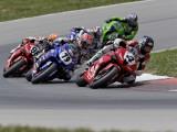 Ama Superbike Race, Mid Ohio Raceway, Ohio, USA Reproduction photographique par Adam Jones