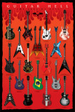 Guitar Hell Affiches