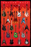 Guitar Hell Plakater