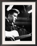 Elvis Presley, Recording in the Studio, June, 1956 Posters