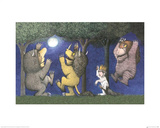 Let the Wild Rumpus Start I Kunst von Maurice Sendak