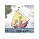 Max Sailing Poster by Maurice Sendak