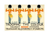 Trooping the Colour Affiches