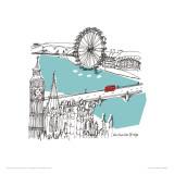 London I Kunstdruck von Susie Brooks