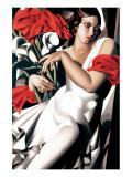 Portrait of Ira Premium Giclee-trykk av Tamara de Lempicka