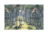 To the Land of the Wild Things Kunstdrucke von Maurice Sendak