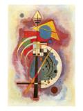 Hommage an Grohmann Giclée-Premiumdruck von Wassily Kandinsky