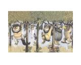Let the Wild Rumpus Start II Prints by Maurice Sendak