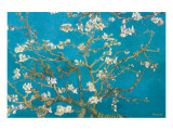 Almond Branches in Bloom, San Remy, c.1890 Premium Giclee Print by Vincent van Gogh