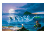They Only Come Out at Night Premium Giclee Print by Jim Warren