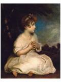 Age of Innocence, c.1723-1784 Exklusivt gicléetryck av Graham Reynold