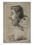 Caricature of Jules Didier Premium Giclee Print by Claude Monet