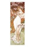 Spring Premium Giclee Print by Alphonse Mucha
