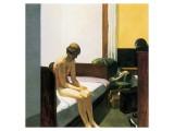 Hotel Room Premium Giclée-tryk af Edward Hopper