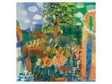 Composition, 1924 Premium Giclee-trykk av Raoul Dufy