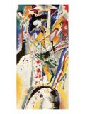 Aquarellentwurf, 1914 Lámina giclée prémium por Wassily Kandinsky