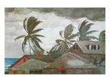 Hurricane, Bahamas, c.1898 Premium Giclee Print by Winslow Homer
